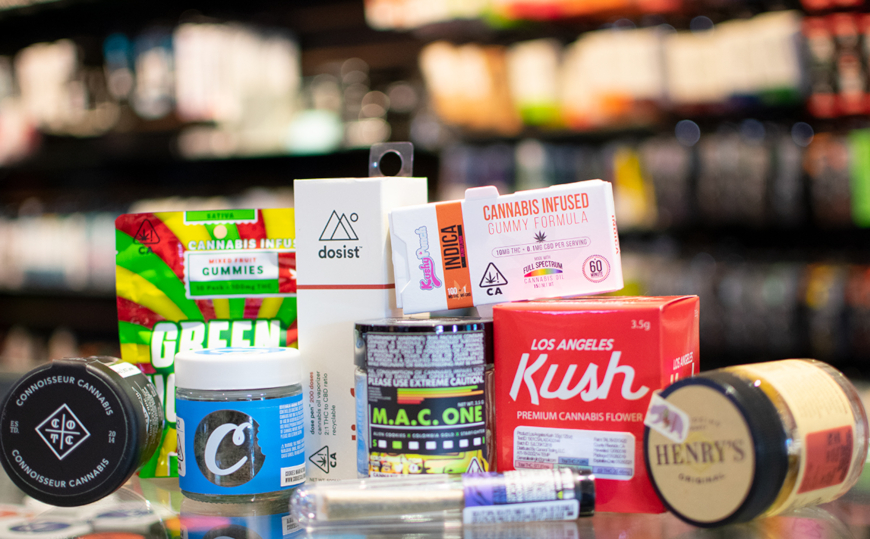 Largest Selection of Cannabis Products